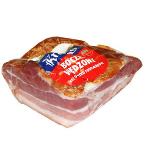 KRAKUS Smoked Pork Bacon - approx. 350g (exp. 17.05.19)
