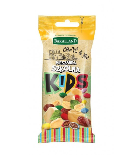 BAKALLAND KIDS Nuts School Mix - 50g (exp. 31.03.20)