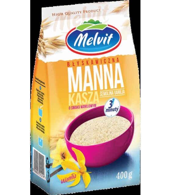 MELVIT Semolina Vanilla Instant - 400g (exp. 12.08.20)