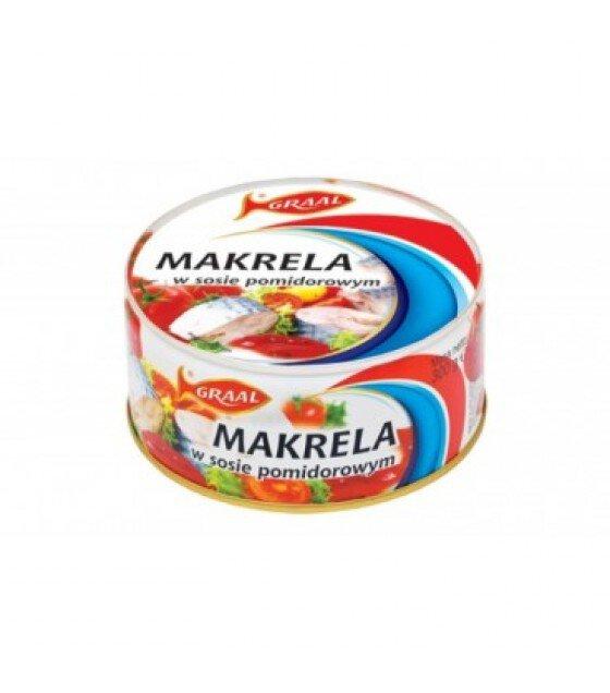 GRAAL Mackerel In Tomato Sauce - 300g (exp. 01.12.21)