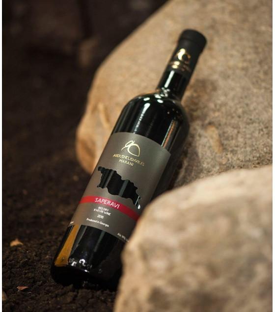 ABDUSHELISHVILI'S MARANI Saperavi Red Dry Kvevri Wine (Georgia) 2017 - 0,75L
