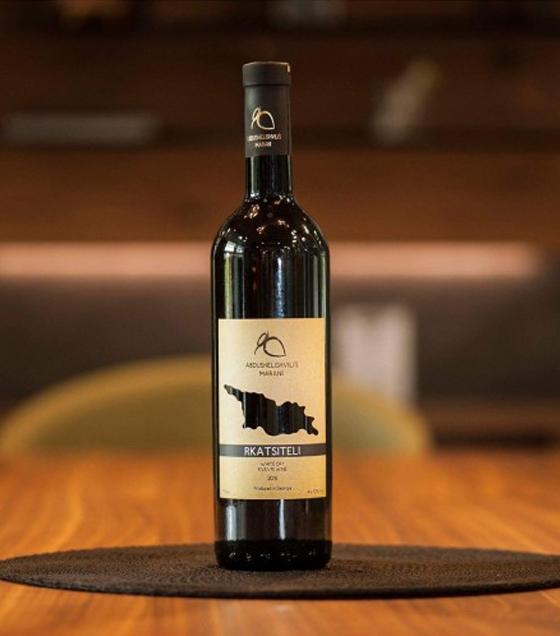 ABDUSHELISHVILI'S MARANI Rkatsiteli Amber Dry Kvevri Wine (Georgia) 2018 - 0,75L