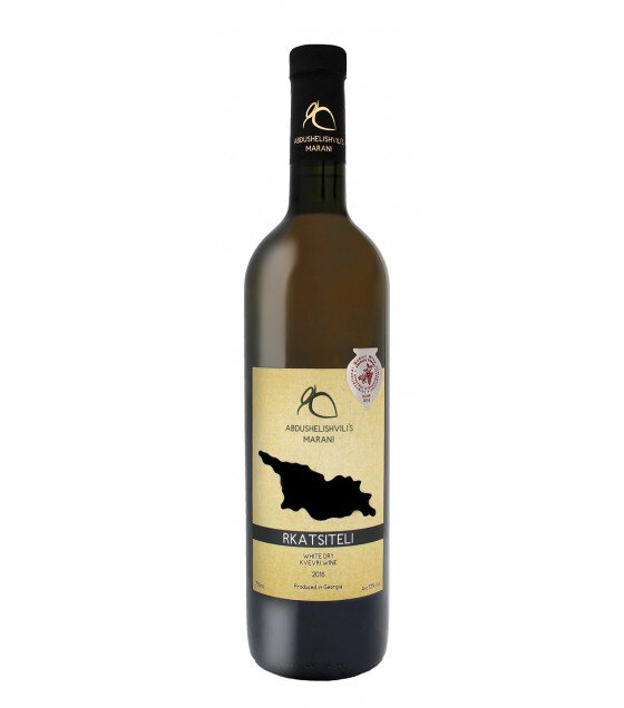 ABDUSHELISHVILI'S MARANI Rkatsiteli Amber Dry Kvevri Wine (Georgia) 2019 - 0,75L