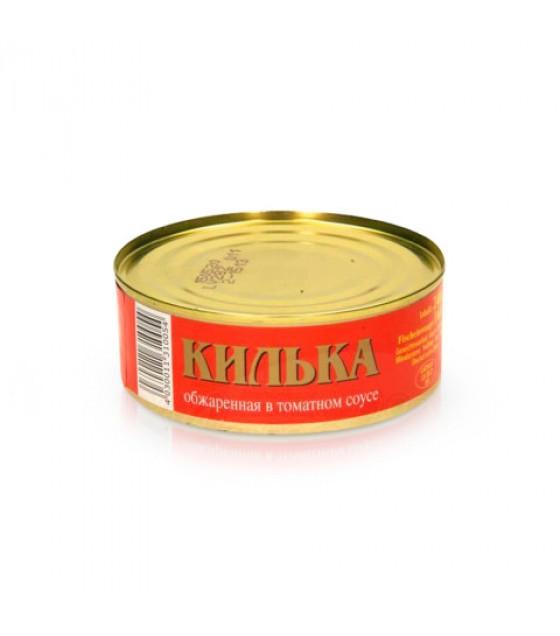 STEINHAUER Sprats Fried (Kilka Sprotten) in Tomato Sauce - 240g (exp. 11.10.21)