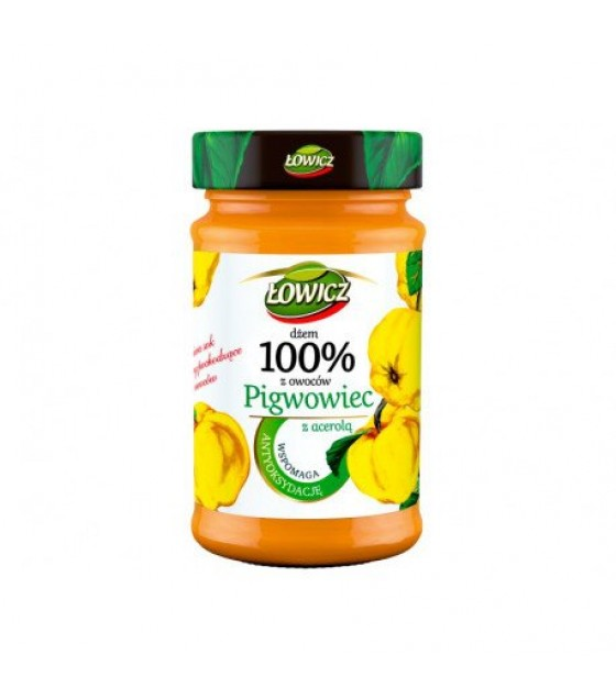 LOWICZ Pro-Health Quince 100% Jam - 235g (exp. 01.11.20)