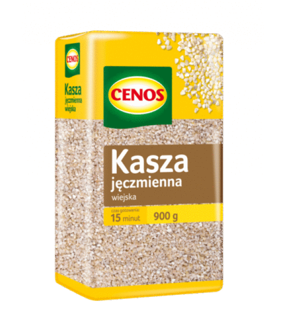 CENOS Peasant Barley Groats - 900g (exp. 03.01.20)