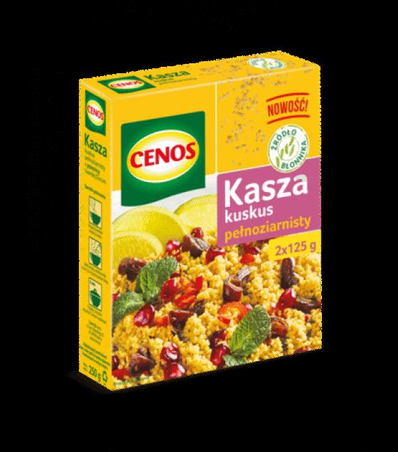 CENOS Whole Grain Couscous (2 x 125g) - 250g (exp. 01.01.20)