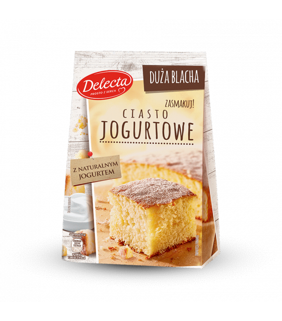 BAKALLAND Yoghurt Cake Baking Mix (Ciasto Jogurtowe) - 640g (best before 30.08.21)