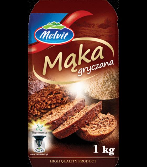 MELVIT Buckwheat Flour - 1kg (exp. 23.08.20)